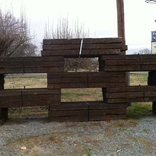 Railroad Ties – Bedford Mulch
